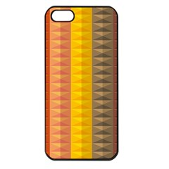Abstract Pattern Background Apple Iphone 5 Seamless Case (black)