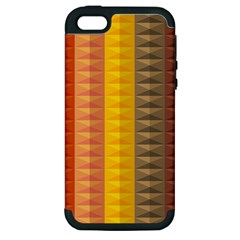 Abstract Pattern Background Apple Iphone 5 Hardshell Case (pc+silicone)
