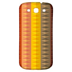 Abstract Pattern Background Samsung Galaxy S3 S Iii Classic Hardshell Back Case