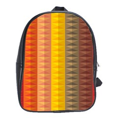 Abstract Pattern Background School Bags (xl)