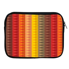 Abstract Pattern Background Apple Ipad 2/3/4 Zipper Cases
