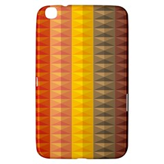 Abstract Pattern Background Samsung Galaxy Tab 3 (8 ) T3100 Hardshell Case