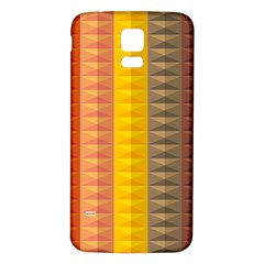 Abstract Pattern Background Samsung Galaxy S5 Back Case (white)