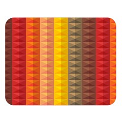Abstract Pattern Background Double Sided Flano Blanket (large)