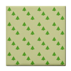 Christmas Wrapping Paper Pattern Tile Coasters