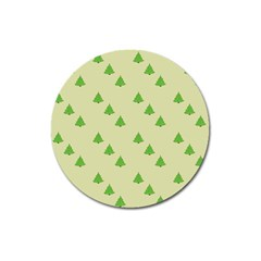Christmas Wrapping Paper Pattern Magnet 3  (round)