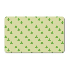 Christmas Wrapping Paper Pattern Magnet (rectangular)