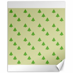 Christmas Wrapping Paper Pattern Canvas 16  x 20
