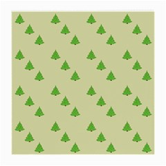 Christmas Wrapping Paper Pattern Medium Glasses Cloth