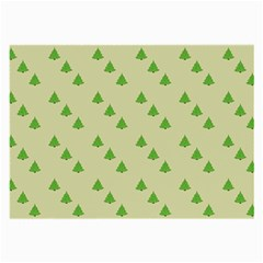 Christmas Wrapping Paper Pattern Large Glasses Cloth (2 Side)