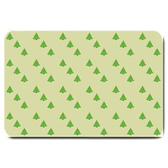 Christmas Wrapping Paper Pattern Large Doormat