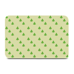 Christmas Wrapping Paper Pattern Plate Mats