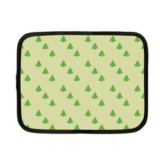 Christmas Wrapping Paper Pattern Netbook Case (Small)