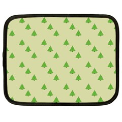 Christmas Wrapping Paper Pattern Netbook Case (large)