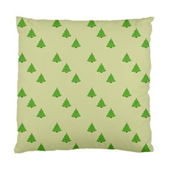Christmas Wrapping Paper Pattern Standard Cushion Case (Two Sides)