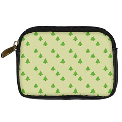 Christmas Wrapping Paper Pattern Digital Camera Cases
