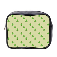 Christmas Wrapping Paper Pattern Mini Toiletries Bag 2-Side