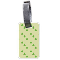 Christmas Wrapping Paper Pattern Luggage Tags (Two Sides)