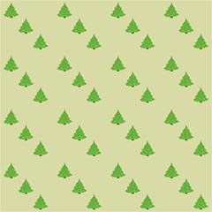 Christmas Wrapping Paper Pattern Magic Photo Cubes