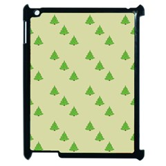 Christmas Wrapping Paper Pattern Apple Ipad 2 Case (black)