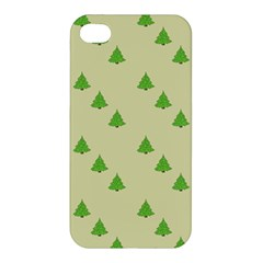 Christmas Wrapping Paper Pattern Apple iPhone 4/4S Hardshell Case