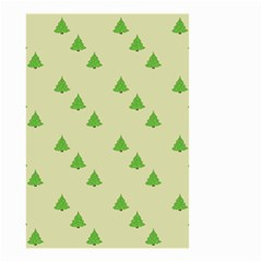 Christmas Wrapping Paper Pattern Small Garden Flag (two Sides)