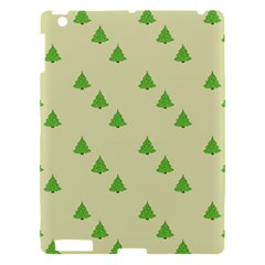Christmas Wrapping Paper Pattern Apple iPad 3/4 Hardshell Case