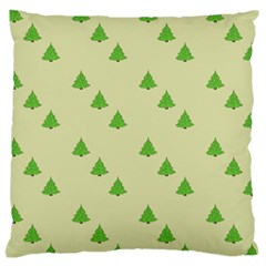 Christmas Wrapping Paper Pattern Large Cushion Case (two Sides)