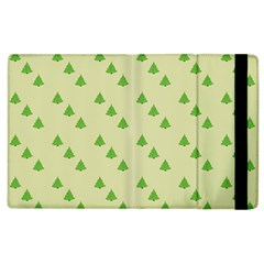 Christmas Wrapping Paper Pattern Apple Ipad 2 Flip Case