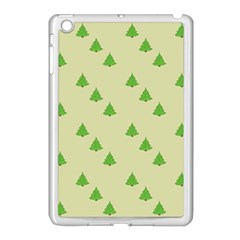 Christmas Wrapping Paper Pattern Apple Ipad Mini Case (white)