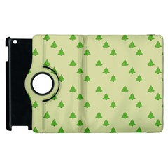 Christmas Wrapping Paper Pattern Apple Ipad 2 Flip 360 Case