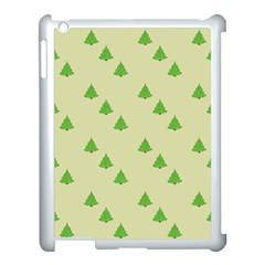 Christmas Wrapping Paper Pattern Apple iPad 3/4 Case (White)
