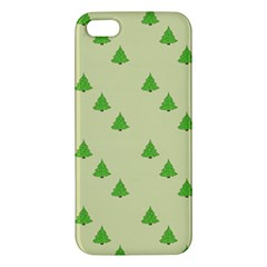 Christmas Wrapping Paper Pattern Apple iPhone 5 Premium Hardshell Case