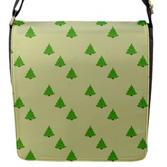 Christmas Wrapping Paper Pattern Flap Messenger Bag (s)