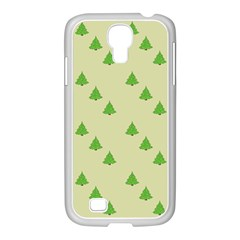 Christmas Wrapping Paper Pattern Samsung Galaxy S4 I9500/ I9505 Case (white)