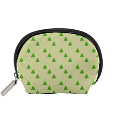 Christmas Wrapping Paper Pattern Accessory Pouches (small)