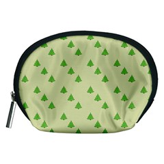 Christmas Wrapping Paper Pattern Accessory Pouches (medium)