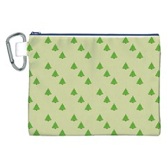 Christmas Wrapping Paper Pattern Canvas Cosmetic Bag (XXL)