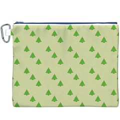 Christmas Wrapping Paper Pattern Canvas Cosmetic Bag (XXXL)