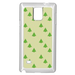 Christmas Wrapping Paper Pattern Samsung Galaxy Note 4 Case (White)
