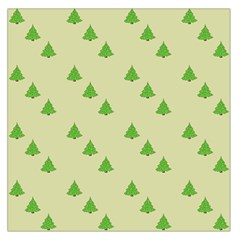 Christmas Wrapping Paper Pattern Large Satin Scarf (Square)
