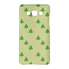 Christmas Wrapping Paper Pattern Samsung Galaxy A5 Hardshell Case