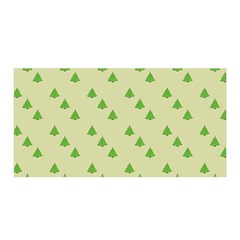 Christmas Wrapping Paper Pattern Satin Wrap