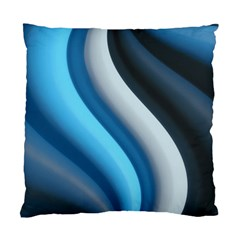 Abstract Pattern Lines Wave Standard Cushion Case (Two Sides)