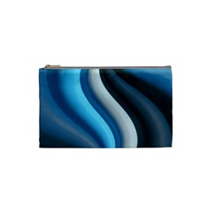 Abstract Pattern Lines Wave Cosmetic Bag (small)