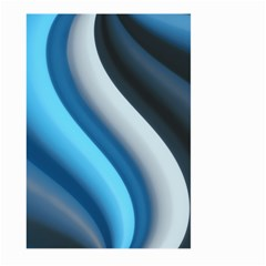 Abstract Pattern Lines Wave Large Garden Flag (Two Sides)