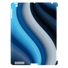 Abstract Pattern Lines Wave Apple Ipad 3/4 Hardshell Case (compatible With Smart Cover)
