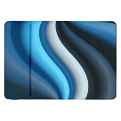 Abstract Pattern Lines Wave Samsung Galaxy Tab 8 9  P7300 Flip Case