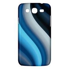 Abstract Pattern Lines Wave Samsung Galaxy Mega 5.8 I9152 Hardshell Case