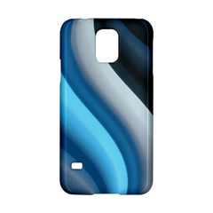 Abstract Pattern Lines Wave Samsung Galaxy S5 Hardshell Case